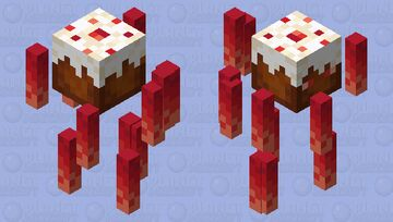 Fiery Sweet Minecraft Mob Skin