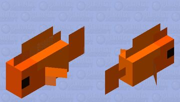 Goldfish Minecraft Mob Skin
