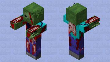 Car accident Minecraft Mob Skin