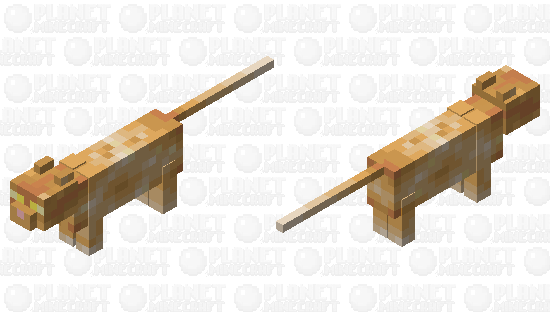 Crookshanks Minecraft Skin