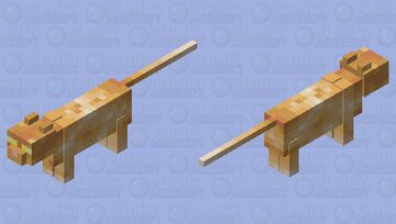 Crookshanks Minecraft Mob Skin