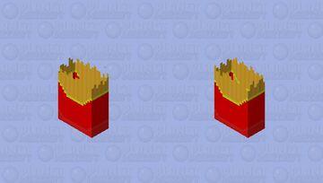 Fries Minecraft Mob Skin