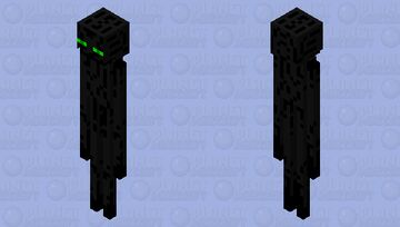 green eyes enderman Minecraft Mob Skin