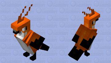 Bird + fox Minecraft Mob Skin