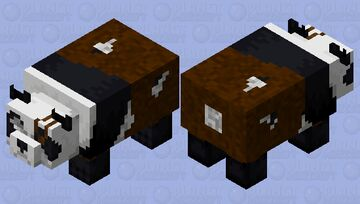 Old panda Minecraft Mob Skin