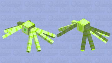 Sun Crawler Minecraft Mob Skin