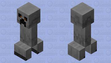 Stone Creeper Minecraft Mob Skin