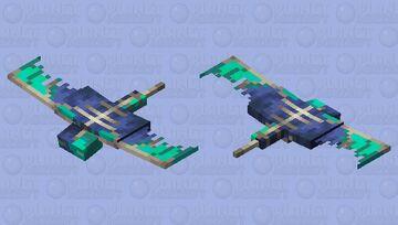 Drowned Phantom? Minecraft Mob Skin