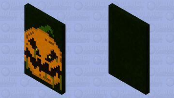 SCARY PUMPKIN(CAPE!) Minecraft Mob Skin