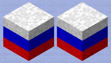 Russia Shulker Minecraft Mob Skin