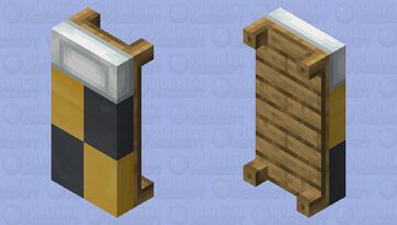 Hufflepuff Bed Minecraft Mob Skin