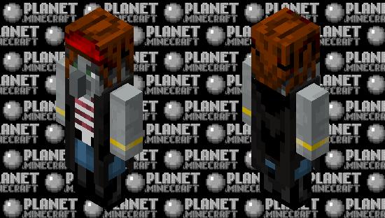 Pirate Evoker! (Reimagined event) Minecraft Skin