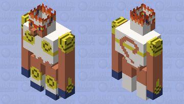 Infernape (Pokemon) Minecraft Mob Skin