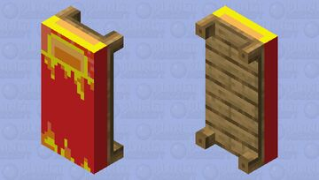 The Fire Bed Minecraft Mob Skin