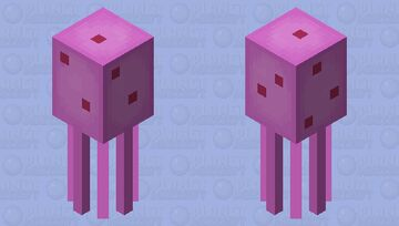 Spongebob Jellyfish Minecraft Mob Skin
