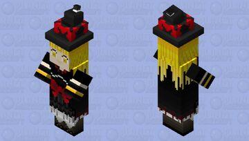 Ghostrick Witch Minecraft Mob Skin