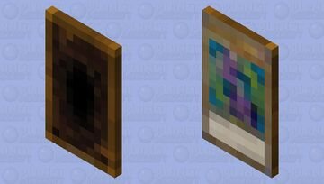 Dork Magician Minecraft Mob Skin