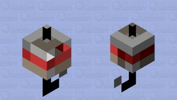 Why is he a bobber? He really be bobbin' tho. Minecraft Mob Skin