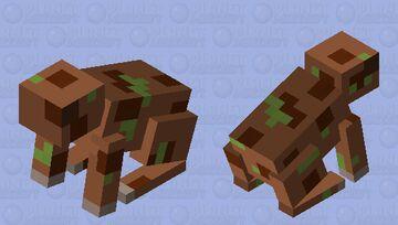 Archey's frog Minecraft Mob Skin