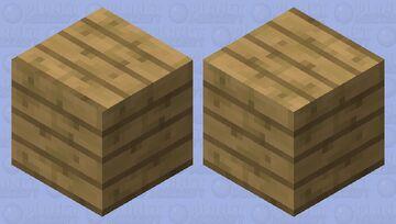 Oak Planks Slime Minecraft Mob Skin