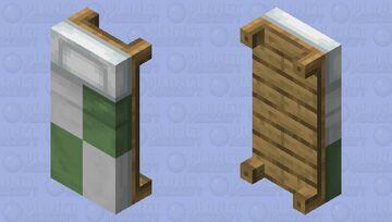 Slytherin Bed Minecraft Mob Skin