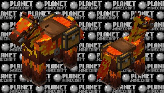 fire horse Minecraft Skin