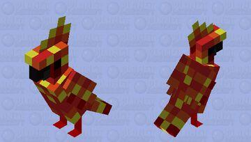 Flame Talons Minecraft Mob Skin