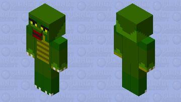 gillman Minecraft Mob Skin