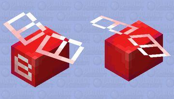 . oh no, a giant B! . Minecraft Mob Skin