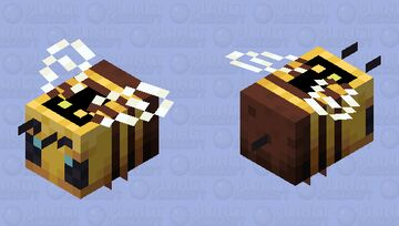 The killer bees from The 39 clues Minecraft Mob Skin