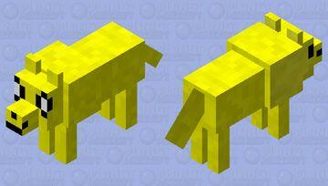 jake the dog (contest) Minecraft Mob Skin