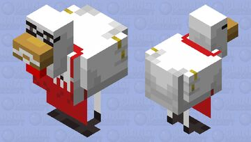 Colonel Sanders Minecraft Mob Skin