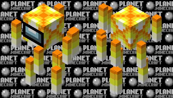 Fire Crewmate (Earthpack Blaze) Minecraft Skin