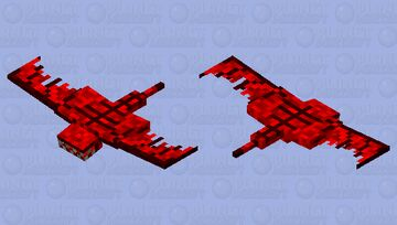 Scarlet Screamer Minecraft Mob Skin
