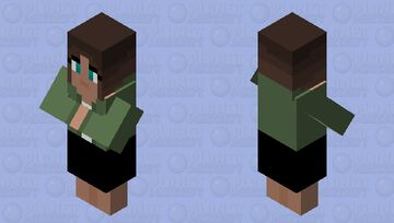 Base Villiger (Female) Minecraft Mob Skin