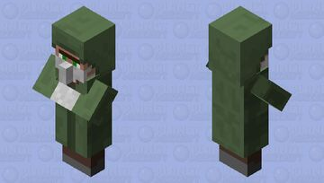 Corona villager Minecraft Mob Skin