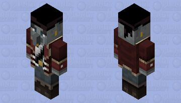 Pirate Vindicator! (Reimagined Event) Minecraft Mob Skin