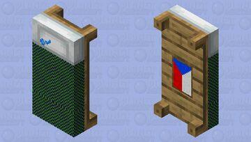 Czech Gamer Bed Minecraft Mob Skin