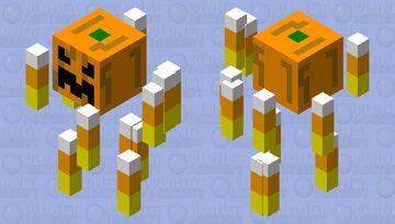 Candy Corn Blaze Minecraft Mob Skin