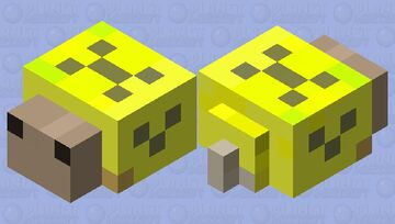 yellow snail thing Minecraft Mob Skin