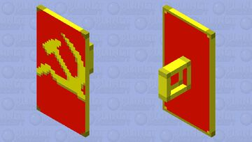 Shield of Soviet Union Minecraft Mob Skin