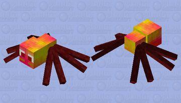 Super Mario 64 - Scuttlebug Minecraft Mob Skin