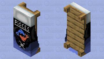 Pisces Bed ..: Zodiac Contest :.. Minecraft Mob Skin