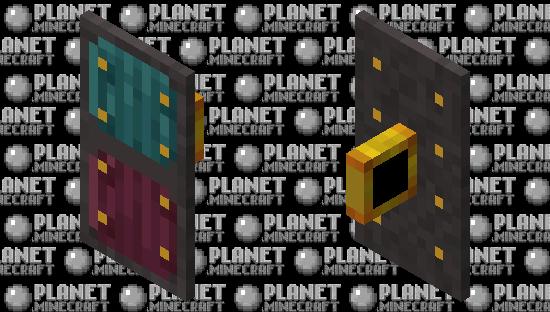 Nether Sheild Minecraft Skin