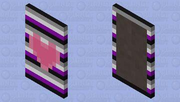 Pride Capes! #6 ~ Ace Pride Minecraft Mob Skin