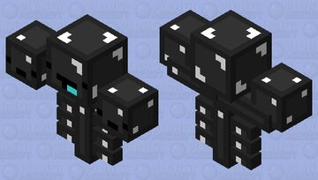 Skeppy wither Minecraft Mob Skin