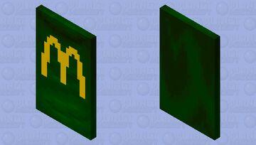 I'm lovin' it! (modern-green-Edition) Minecraft Mob Skin
