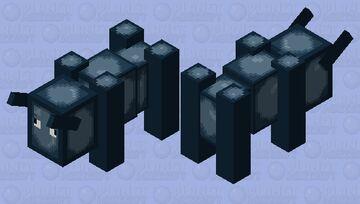 Squid Ravager Minecraft Mob Skin