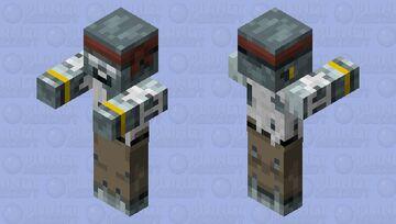Zombie Pirate! (Reimagining Contest) Minecraft Mob Skin