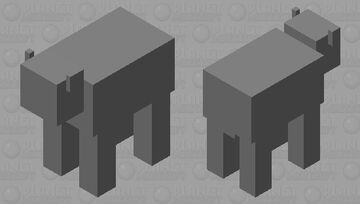 Rhino Minecraft Mob Skin